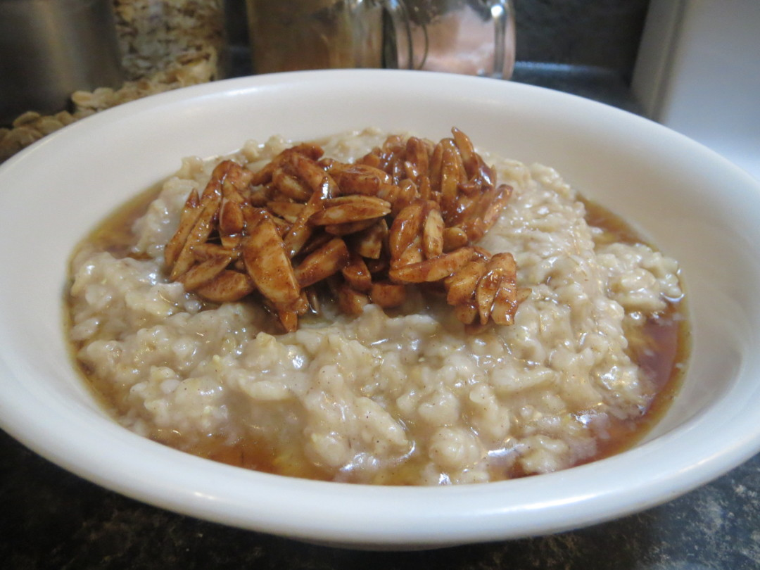 Cinnamon Maple Crunch Oatmeal